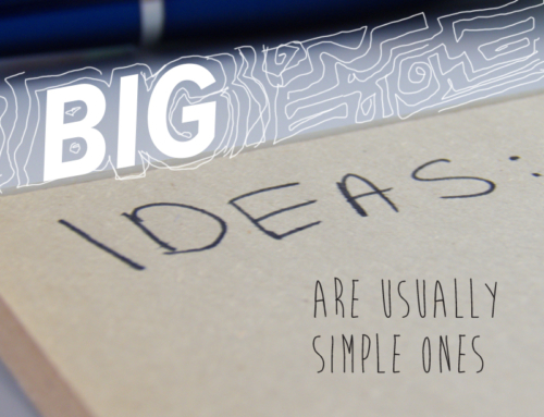 Big ideas are usually simple ones